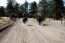 The cowboy rides away ...