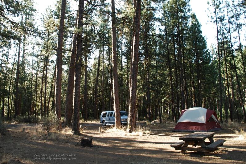 sehr ruhiger Zeltplatz, auch ohne fließend Wasser und Strom